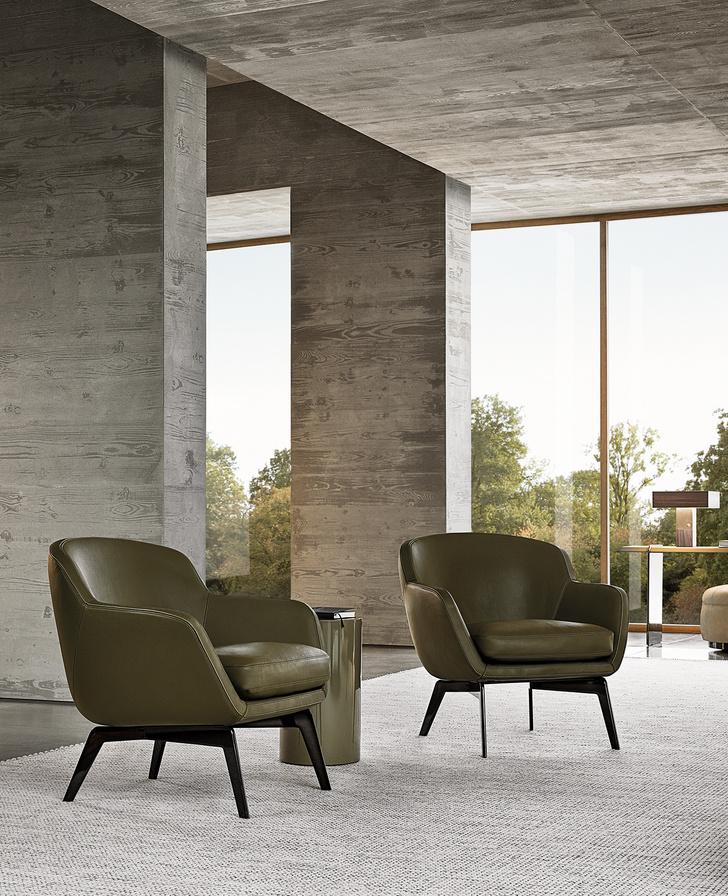 Фото №3 - Minotti 2021: четыре дизайнера— одна коллекция