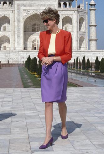 Фото №5 - Самое модное цветовое сочетание сезона из гардероба Дианы (которое взяла на заметку герцогиня Меган)