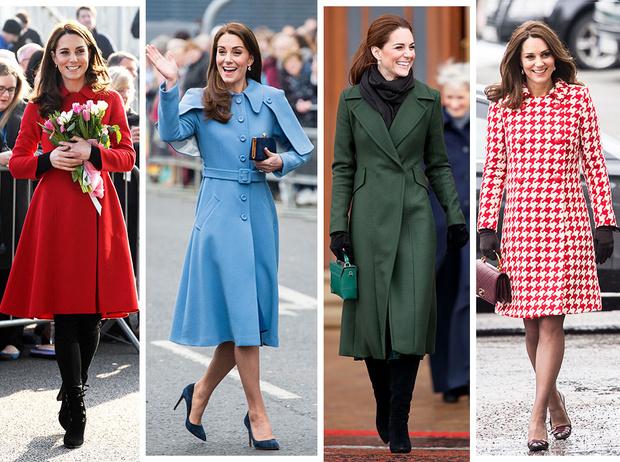 Фото №1 - Пальто на весну, как у Кейт Миддлтон: где найти самые актуальные модели