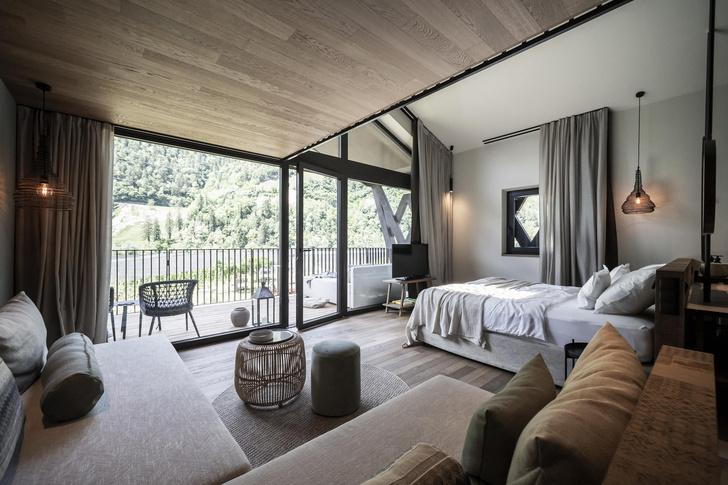 Фото №16 - Отель в горах по проекту студии Noa