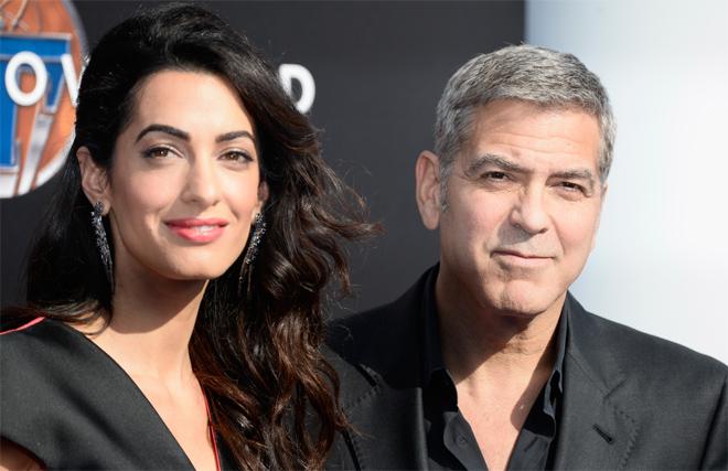 Фото №1 - Паста с фрикадельками: Клуни поздравил жену с годовщиной свадьбы