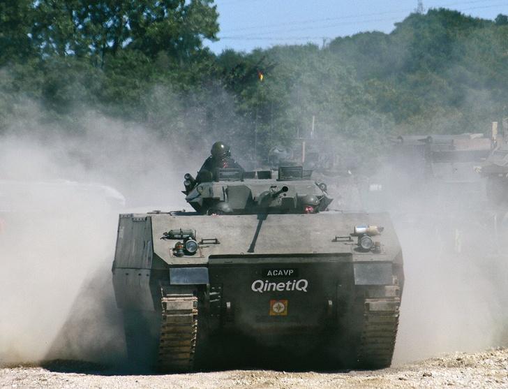 Фото №1 - «Пластиковый танк»— порождение британской военной мысли. Как его строили и что с ним стало