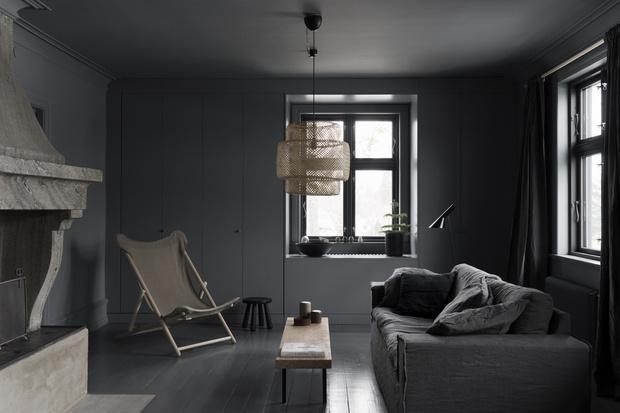 Фото №3 - Лунное безмолвие: дом в серых тонах в Швеции