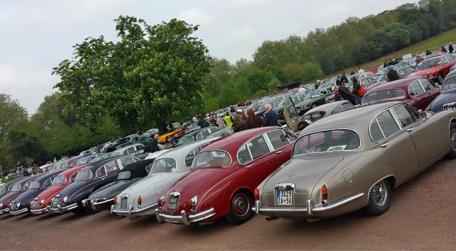 Фото №2 - Автомобили Jaguar на Королевском фестивале в Виндзоре