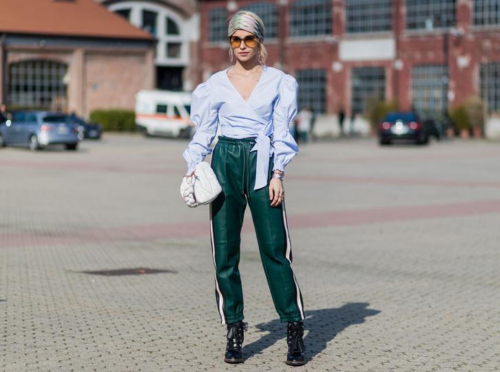 Фото №4 - Как носить спортивные брюки-джоггеры: 6 неожиданных сочетаний