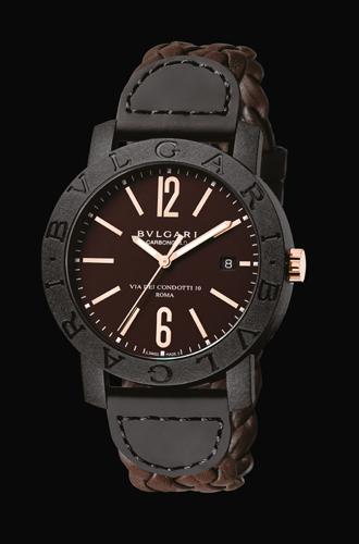 Фото №3 - Новое – это хорошо забытое старое: часы BVLGARI BVLGARI Carbon Gold