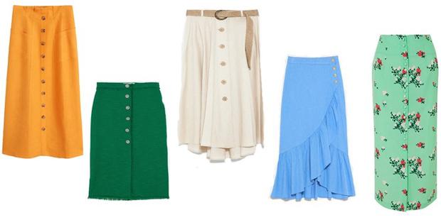 Фото №2 - Что купить: 5 летних юбок, в которых ты будешь королевой даже в самую жару