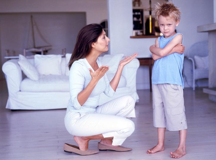 Фото №1 - 12 способов объяснить ребенку, что он не прав
