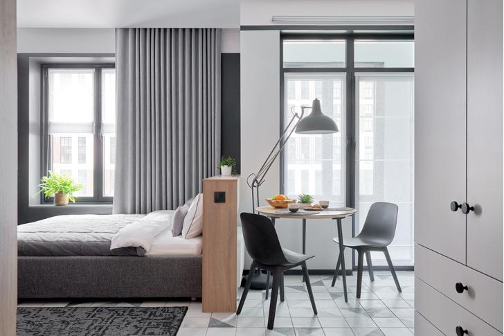 Фото №9 - Стильные апартаменты 31 м² для сдачи в аренду в Москве