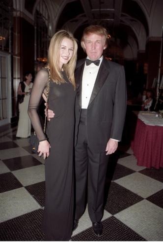 Фото №2 - Любовный треугольник: с кем встречался Дональд Трамп, когда познакомился с Меланией