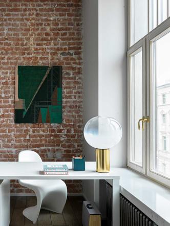Фото №9 - Винтаж и современность: элегантная квартира на Патриарших прудах 300 м²