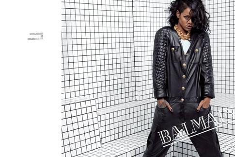 Рианна (Rihanna), Balmain