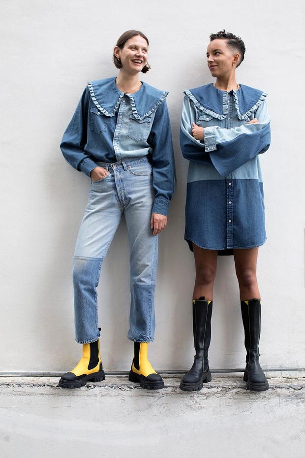 Фото №4 - Эти три джинсовых платья будут в моде летом 2021