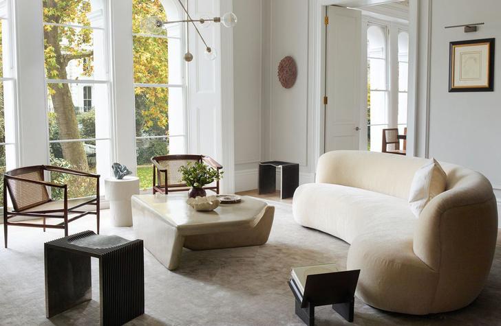 Фото №1 - Светлая квартира с винтажной мебелью в Лондоне