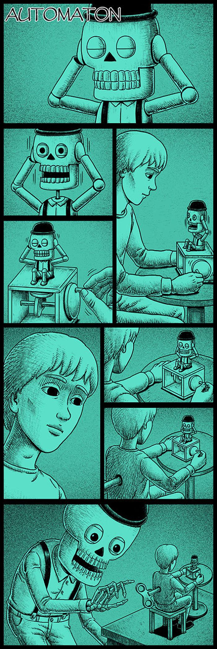 Фото №28 - 30 комиксов с отборным черным юмором от Бена Чена
