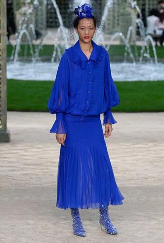 Фото №5 - Цветущий сад Карла: Chanel Haute Couture SS18