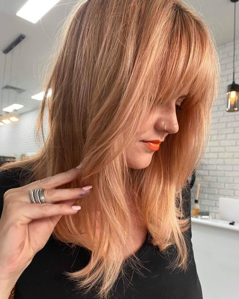 Фото №6 - Персиковый блонд: самое трендовое летнее окрашивание 🍑