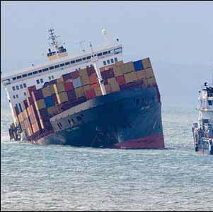 Фото №1 - Крушение у берегов Англии