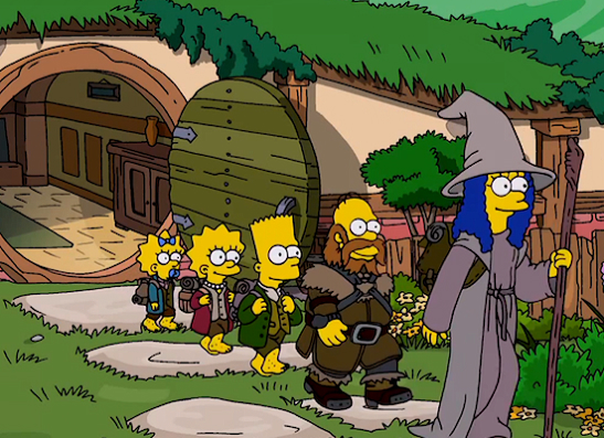 Фото №9 - 15 самых крутых пародий в «Симпсонах»