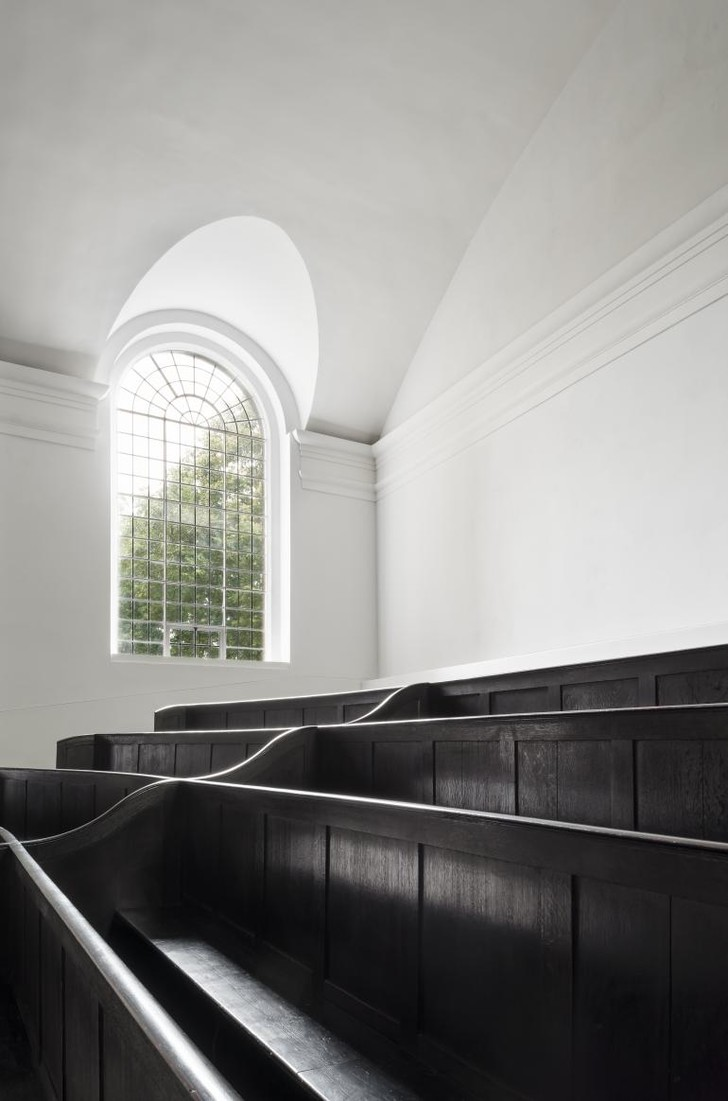 Фото №8 - Джон Поусон провел реконструкцию церкви Святого Иоанна в Хакни