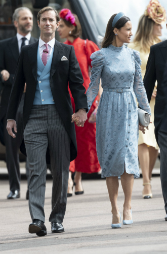 Фото №3 - 10 самых стильных гостей на свадьбе Леди Габриэллы Виндзор