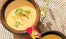 Тыквенный суп с кокосом
