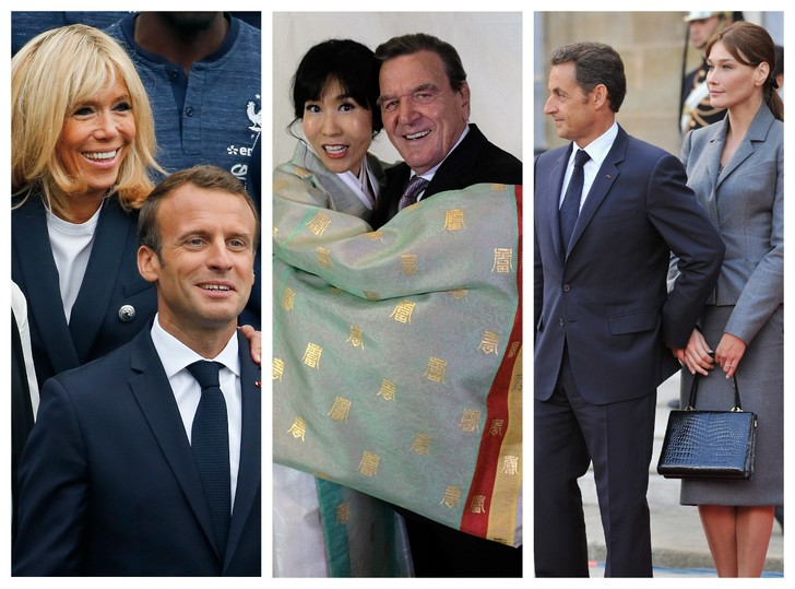 Фото №1 - Любви покорны: знаменитые политики и их супруги с большой разницей в возрасте