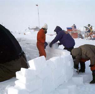 Фото №1 - Ученых снова забудут на льдине