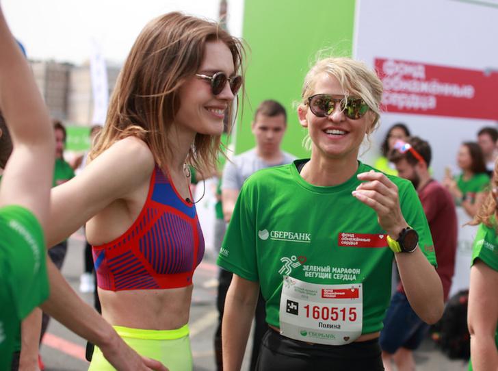 Фото №1 - Как прошел марафон «Зеленый Марафон Бегущие Сердца — 2019»