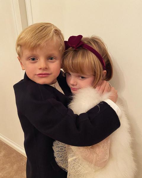 Дети князя Альбера и княгини Шарлен
