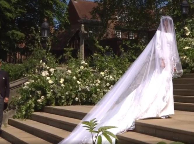 Фото №50 - Свадьба Меган Маркл и принца Гарри: как это было (видео, фото, комментарии)