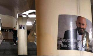 Неизвестные развесили по Гонконгу плакаты с Михаилом Шуфутинским