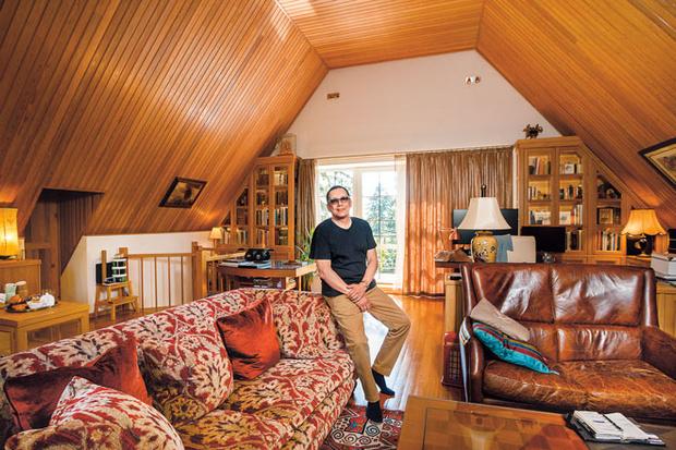 Фото №1 - Егор Кончаловский: «Самая большая территория в доме— моя»
