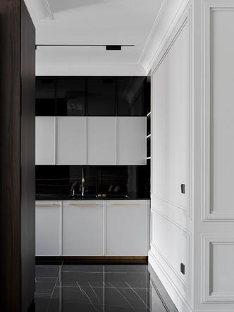 Фото №6 - Новая классика в серых тонах: квартира 100 м² в Москве
