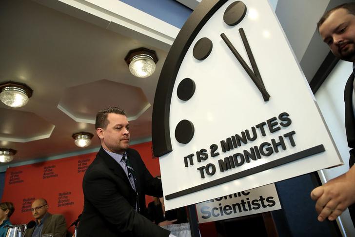 Фото №1 - Часы Судного дня показали без двух минут полночь