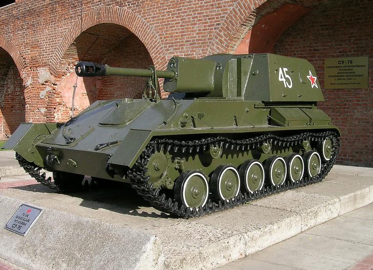Фото №2 - Почему СУ-76 называли «братской могилой»