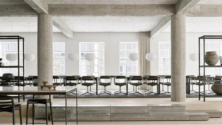 Фото №1 - Pop-up ресторан в здании бывшей фабрики в Копенгагене
