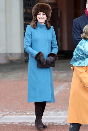 Фото №13 - Кейт Миддлтон и принц Уильям в Норвегии: день первый