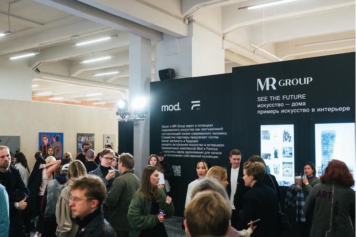 Фото №13 - Наталья Гольденберг, Ксения Чилингарова и другие гости на открытии ярмарки молодого современного искусства blazar