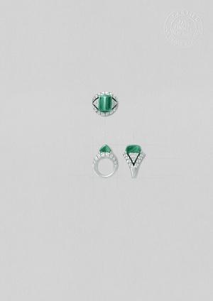 Фото №2 - Геометрия, калейдоскопические эффекты, контрасты цветов и оттенков в коллекции высокого ювелирного искусства Cartier [Sur]Naturel