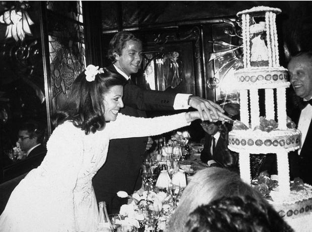 Свадьба Кристина Онассис и Тьерра Русселя, 1984 год