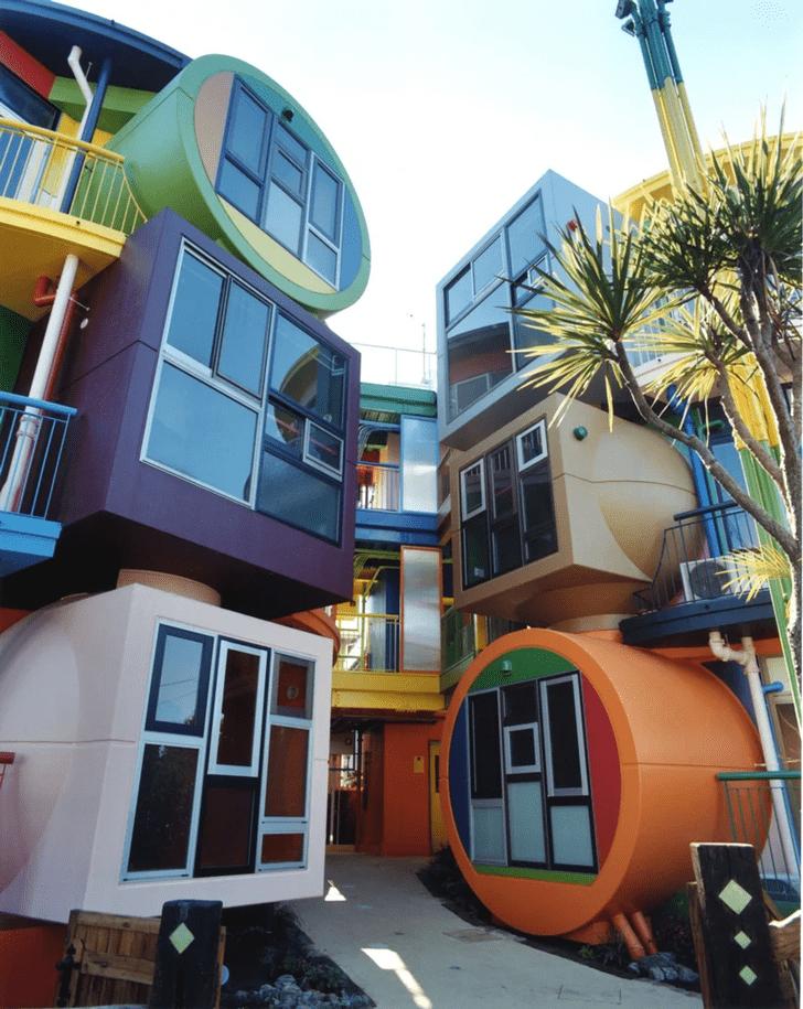 Фото №3 - Яркий жилой комплекс в Токио
