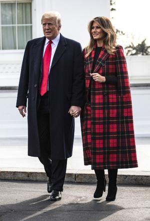 Фото №4 - Как затмить президента: модная инструкция от Мелании Трамп