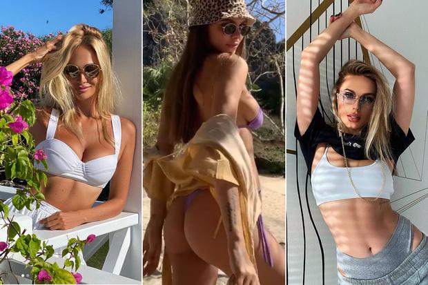 Фото №1 - Вестник «100 самых сексуальных женщин страны»: Хеллоуин Натальи Рудовой, пляж Вики Одинцовой и не только