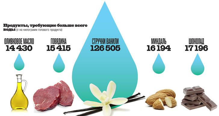 Фото №3 - Инфографика: следы воды