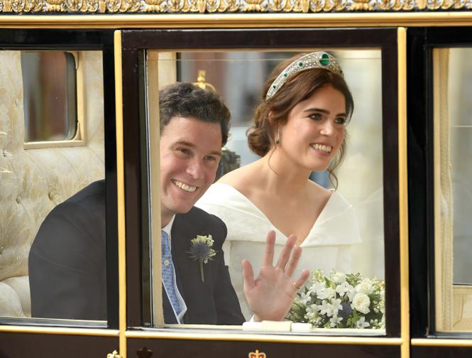 Фото №69 - Свадьба принцессы Евгении и Джека Бруксбэнка