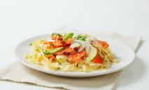 Паста с лососем в сливочном соусе: пошаговый рецепт