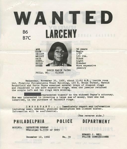 Фото №3 - Криминальный талант Дорис Пейн: всю жизнь воровала бриллианты, а попалась на краже продуктов