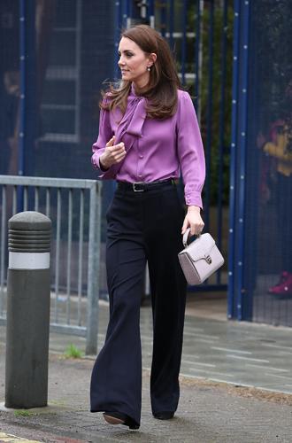 Фото №8 - Лучшие образы герцогини Кейт в 2019 году