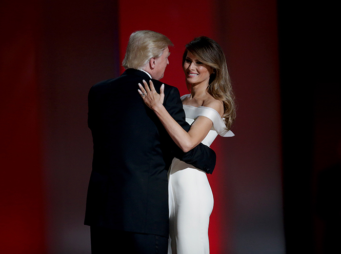 Фото №14 - Рождение fashion-звезды: Мелания Трамп на инаугурации